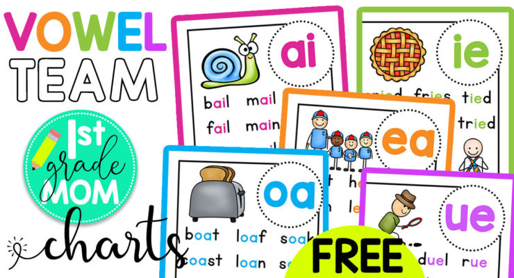 Vowel Team Printables