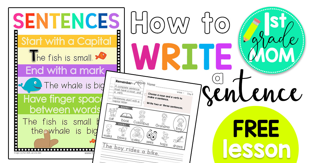 First Grade Writing Printables